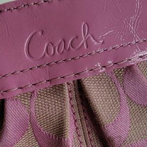 Coach Bags - Coach Wallet Pink/Tan NWOT